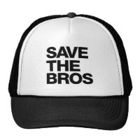Save the Bros Hat - Black