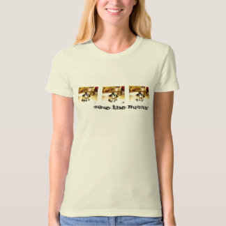 SAVE THE BUNNY CityScape 4 T-Shirt