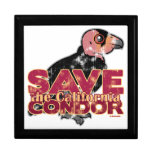 Save the California Condor Jewelry Boxes
