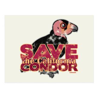Save the California Condor Postcard