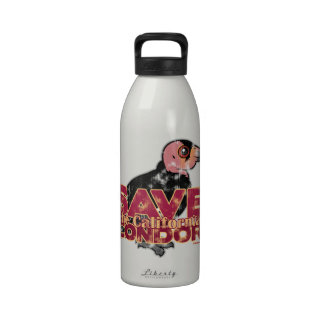 Save the California Condor Water Bottles