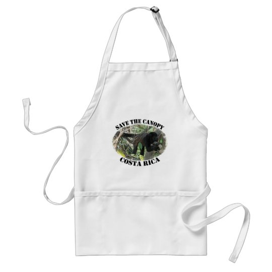 Save the Canopy-Costa Rica Adult Apron