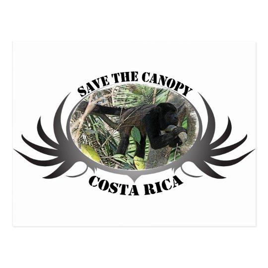 Save the Canopy-Costa Rica Postcard