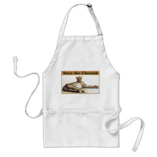 Save the Cheetah Adult Apron