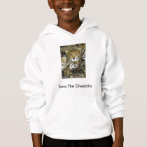 Save The Cheetahs Hoodie