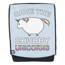 Save The Chubby Unicorns Backpack