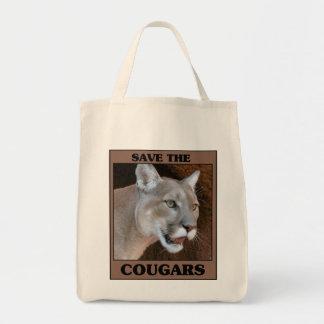 Save the Cougar Tote Bag