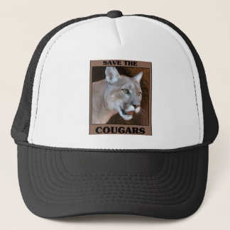 Save the Cougar Trucker Hat