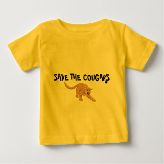 SAVE THE COUGARS INFANT T-SHIRT
