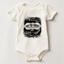 Save the Cowboy Clothing Baby Bodysuit