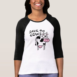 Save The Cows Animal Rights Shirt