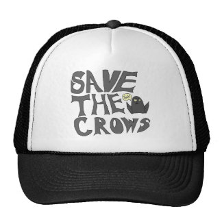 Save the Crows Trucker Hats