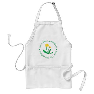 Save The Dandelions Adult Apron