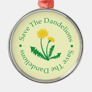 Save The Dandelions Ornament