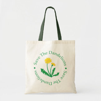 Save The Dandelions Tote Bag
