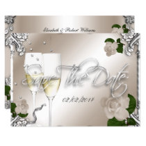 Save The Date 25th Anniversary Wedding