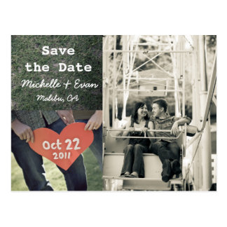 save the date 3 postcard