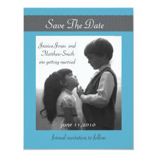 save the date 4.25x5.5 paper invitation card