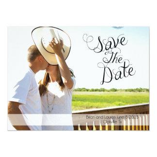 Save The Date 5.5x7.5 Paper Invitation Card