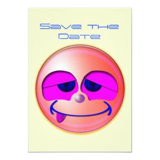 Save The Date 5x7 Paper Invitation Card