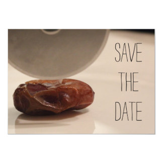 Save the date 5x7 paper invitation card