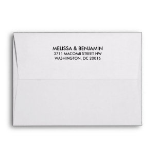 Save The Date Envelopes Zazzle