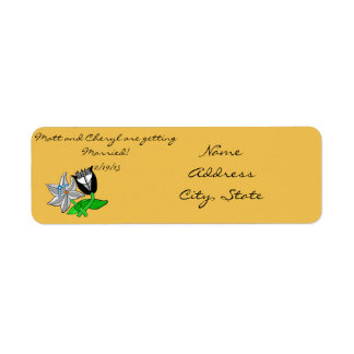 Save the Date address labels