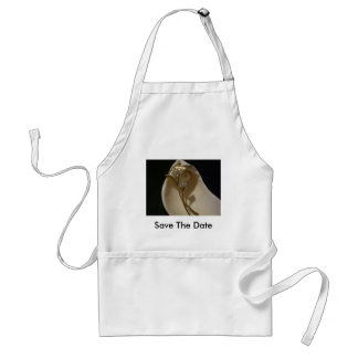 Save the Date Adult Apron