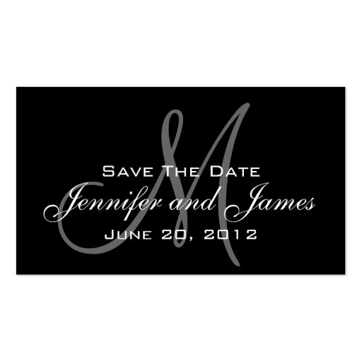 Save the Date and Wedding Website Card Business Card Templates