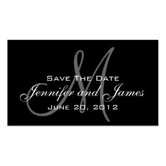Save the Date and Wedding Website Card Double-Sided Standard Business Cards (Pack Of 100)