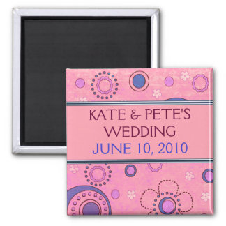Save The Date Announcement Magnet
