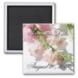 Save the Date Announcement Snapdragon Magnet Fridge Magnets