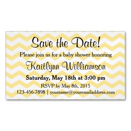 Save the Date Baby Shower Magnetic Card Reminder | Zazzle