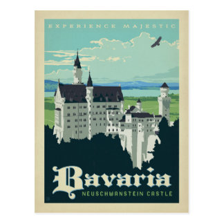 Save the Date | Bavaria, Neuschwanstein Castle Postcard