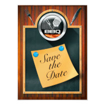 Save the Date BBQ Card