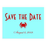 Save the Date - Beach - Customized Postcard