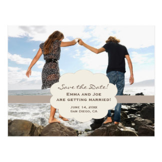 Save the Date beach style! Postcard