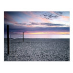 Save The Date Beach Sunset Postcard