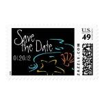 Save the Date Beach Wedding Postage