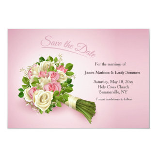Save the Date Bouquet Card