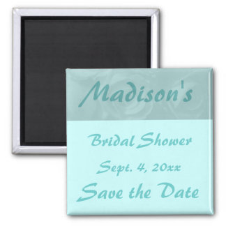 """Save the Date"" Bridal Shower Magnet"