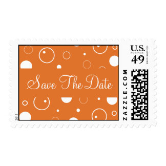 Save The Date Bubbles Postage