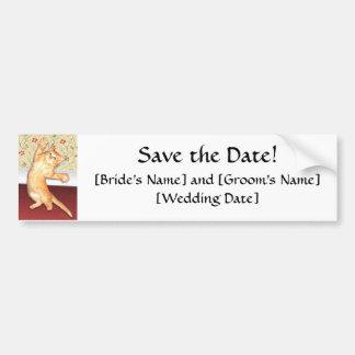 Save the Date! Car Bumper Sticker