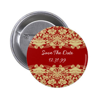 Save The Date Button-Personalizable Text  Button