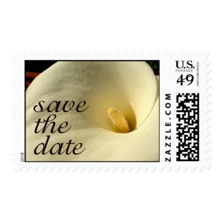 Save The Date * Calla Lilly Postage