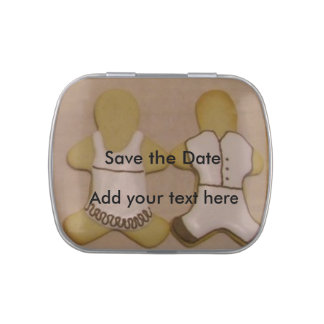 Save the Date candy tin