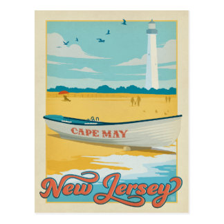 Save the Date | Cape May, NJ Postcard