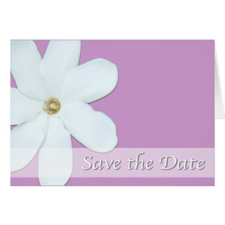Save the Date Card - Background Color Changeable