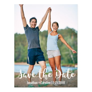 colorfulgalshop Save the Date Card | Fun, Modern, Casual, Photo