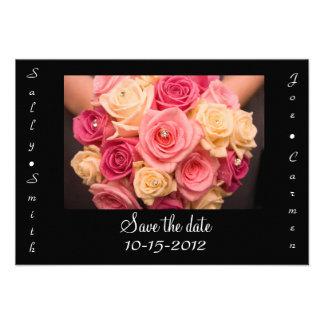 Save the Date Card Custom Invites